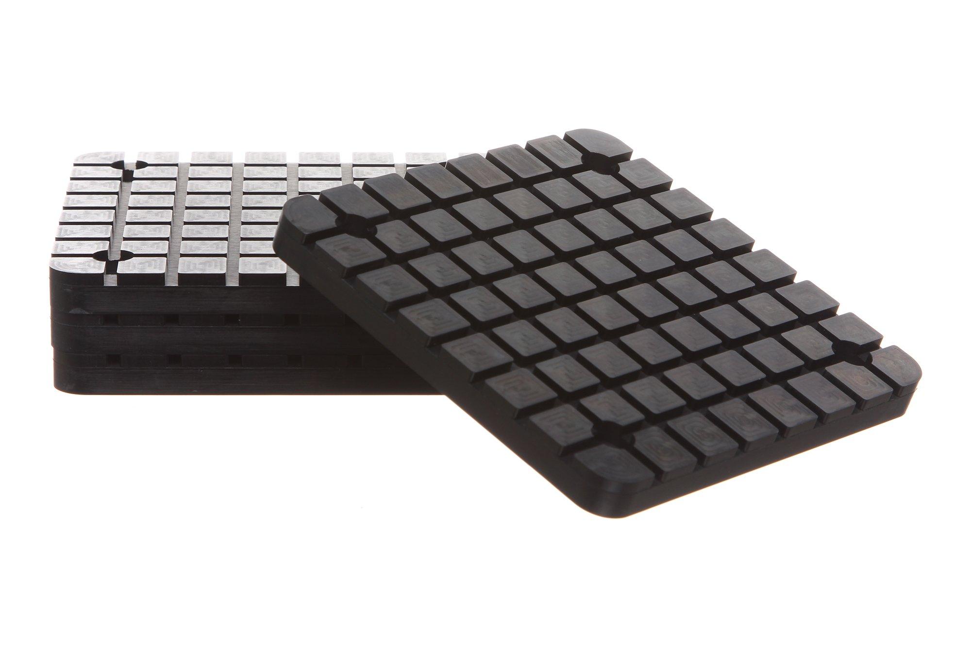 Square Rubber Arm Pads for BendPak / Danmar 2-Post Car Lift New Set of 4