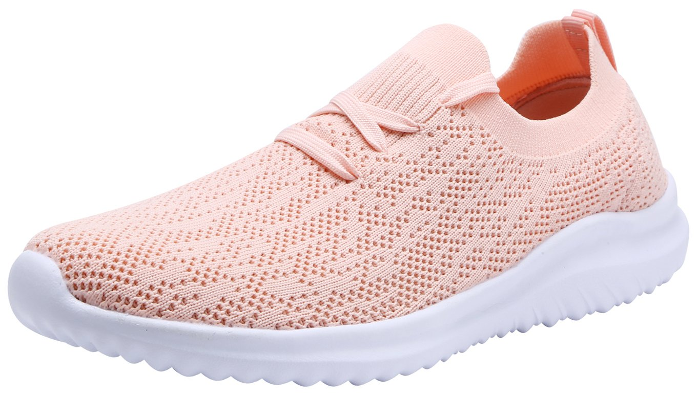 G GEERS Women Fashion Sneakers Athletic Walking Running Sports Shoes B07CQGBNTR 7 M US|3-pink