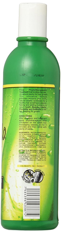 Crece Pelo Rinse Fitoterapeutico Natural (Natural Phitoterapeutic Rinse) 12oz by Boe Cosmetics by Boe Cosmetics: Amazon.es: Salud y cuidado personal