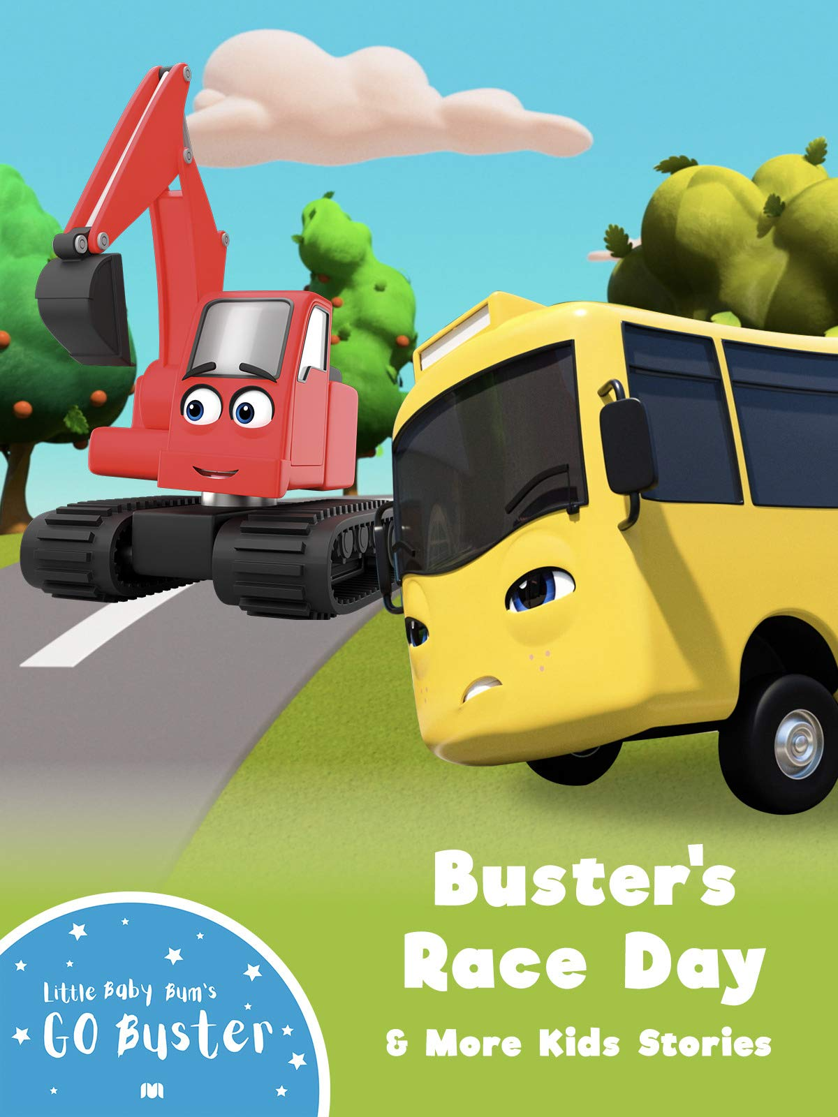 Go Buster - Buster's Race Day & More Kids Stories