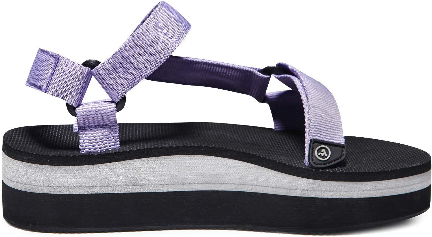 ATIKA Womens Islander Trail Outdoor Water Shoes Strap Sport Sandals