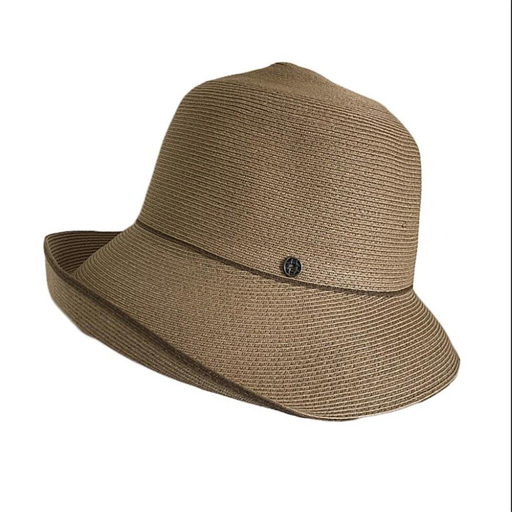 Shuo lan hu wai Der Hut der Frauen asymetrische Damenhüte kann im Hut gefaltet Werden