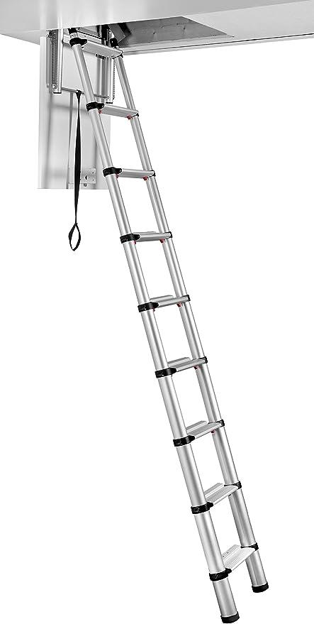 Telesteps 60324 Escalera Telescópica Mini Loft, 2.45 m: Amazon.es: Bricolaje y herramientas
