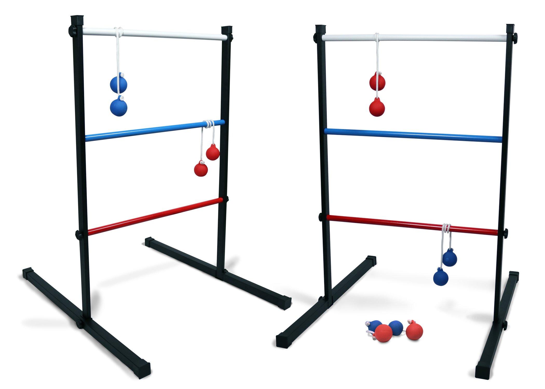 Backyard Champs LBMET-1 Metal Ladderball Game by Backyard Champs