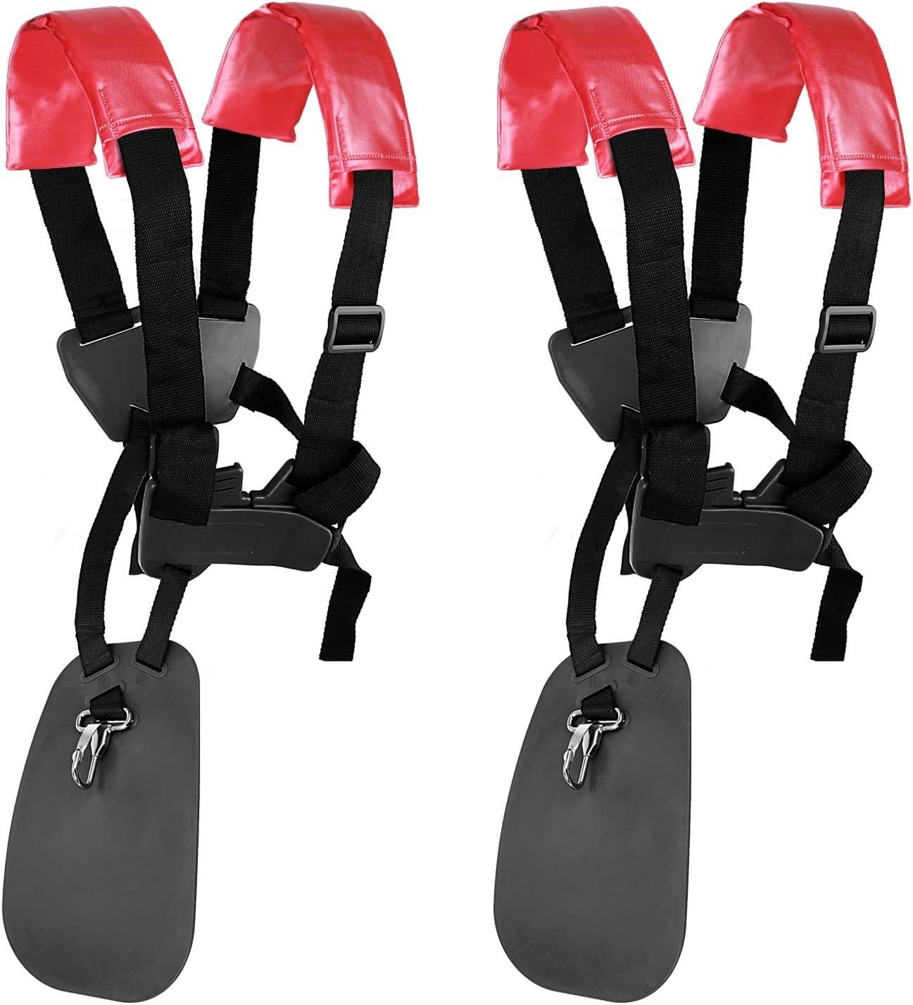 Hanperal Black Comfort Strap Double Shoulder,Trimmer Shoulder Strap for Harness,
