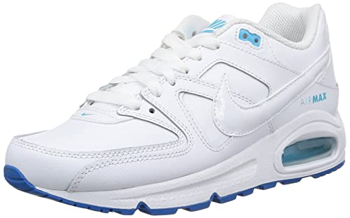 the best attitude 2b88d 64150 Nike Air Max Command LTR GS Scarpe Sportive, Ragazzo, White/White-Dk  Electric Blu, 36.5: Amazon.it: Scarpe e borse