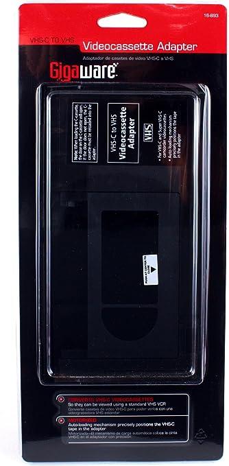Gigaware VHS-C Videocassette Adaptor