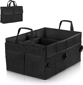 Linkax Kofferraumtasche Auto Kofferraum Organizer Faltbare Autotasche Aufbewahrung Taschen Klappbox Kofferraumbox Faltbox Organizer Reise Aufbewahrungstasche Für Auto Baumarkt