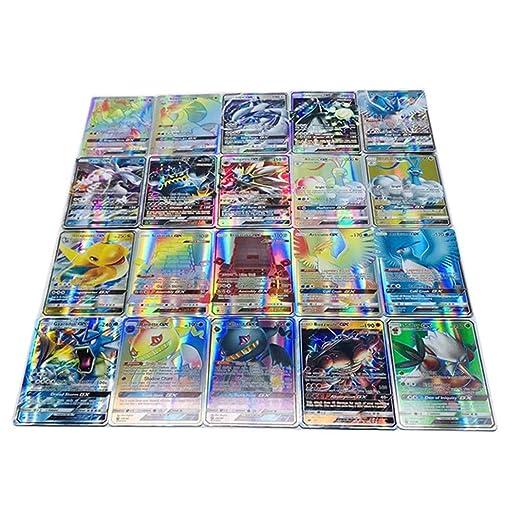 Dorara 100 Piezas Tarjetas Comerciales Pokemon Cartas Traje ...
