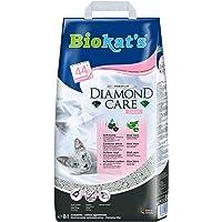 Biokat'S Diamond Care Fresh, Geurend - Fijne Kattenbakvulling Met Actieve Kool En Aloë Vera - 1 Zak (1 X 8 L)