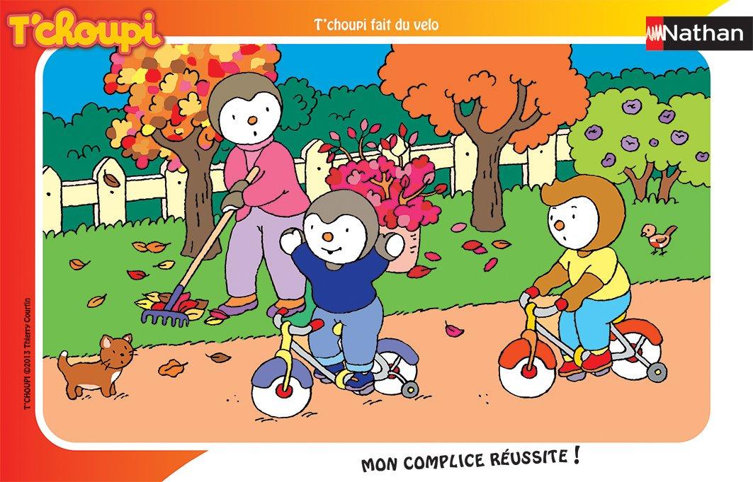 Finest nathan puzzle enfant avec cadre tuchoupi fait du vlo pices amazonfr jeux et jouets with - Tchoupi et dodo ...