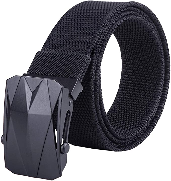 Nylon Military Tactical Hiking Outdoor Belt Duty Sport Web None Metal Belts Stra