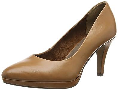 Tamaris 22405, Chaussures à Talons Avant du Pieds Couvert Femme