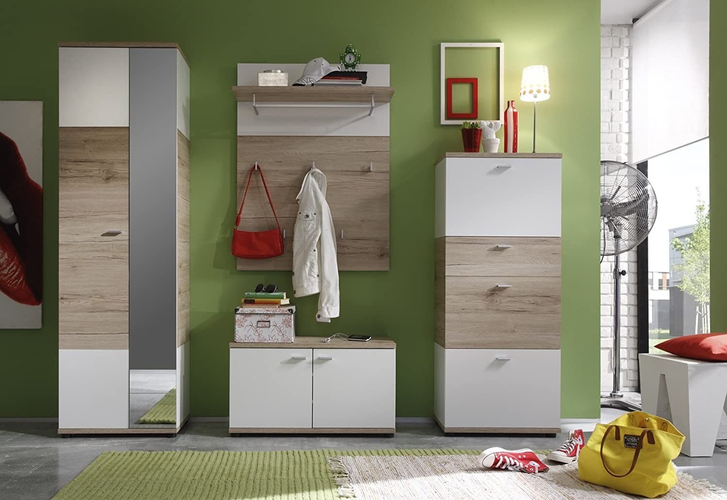 garderobe weiss cheap garderobe weiss with garderobe weiss with garderobe weiss finest. Black Bedroom Furniture Sets. Home Design Ideas
