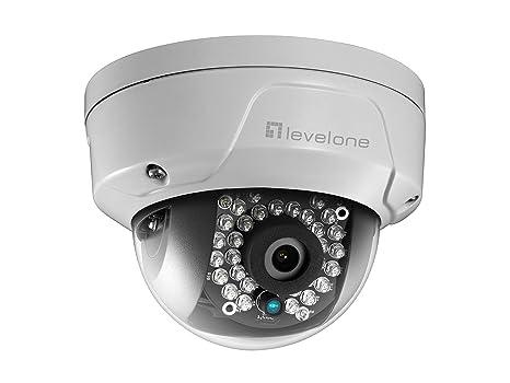 LevelOne FCS-3096 Cámara de Seguridad IP Interior y Exterior Almohadilla Blanco 3840 x 2160Pixeles