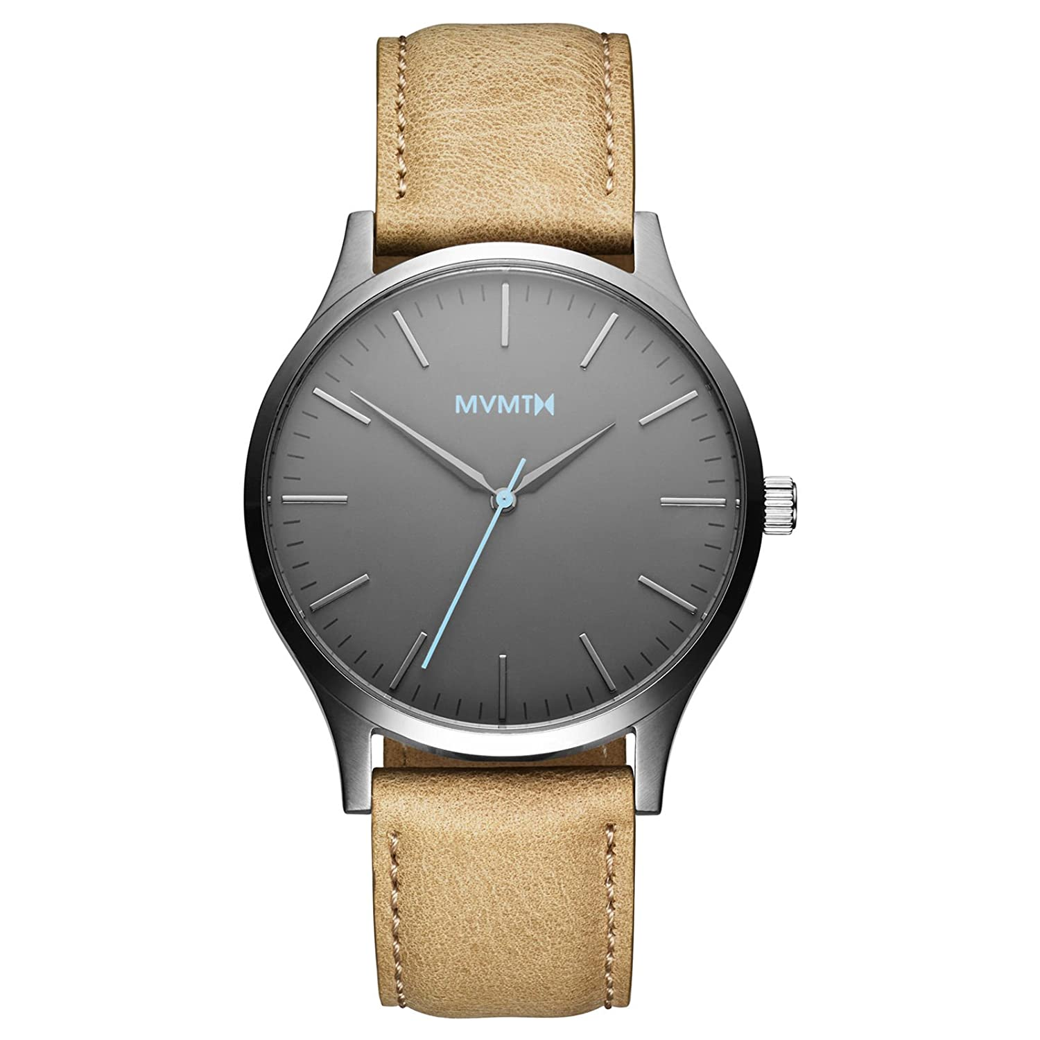 MVMT Watches 40 Series Herren Uhr Gunmetal-Sandstone Leather