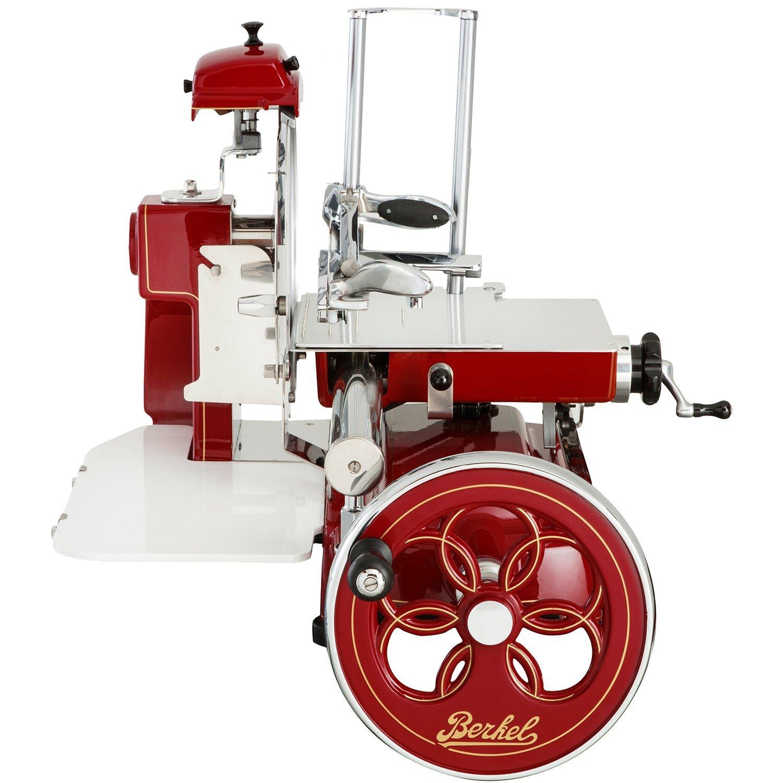 Berkel Volano B3 Red Stainless Steel Electric Meat Slicer