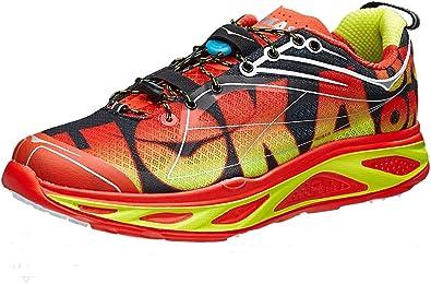 Hoka One One huaka Naranja Flash – Zapatos de Running, Color Rojo, Talla 46 2/3: Amazon.es: Zapatos y complementos