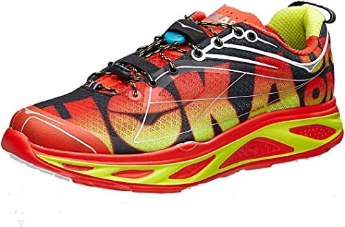 Hoka One One huaka Naranja Flash – Zapatos de Running, Color Rojo ...