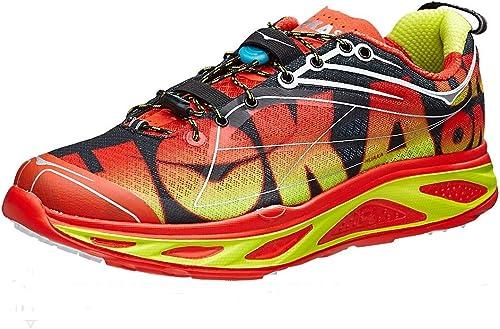 Hoka One One huaka Naranja Flash – Zapatos de Running, Color Rojo ...