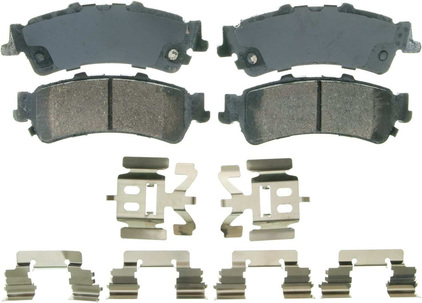 Disc Brake Pad Set-ThermoQuiet Disc Brake Pad Front fits 99-04 Grand Cherokee