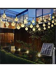 lichterketten f r drau en. Black Bedroom Furniture Sets. Home Design Ideas