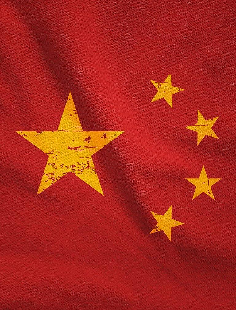 Vintage China Flag Retro Chinese Style Singlet TeeStars