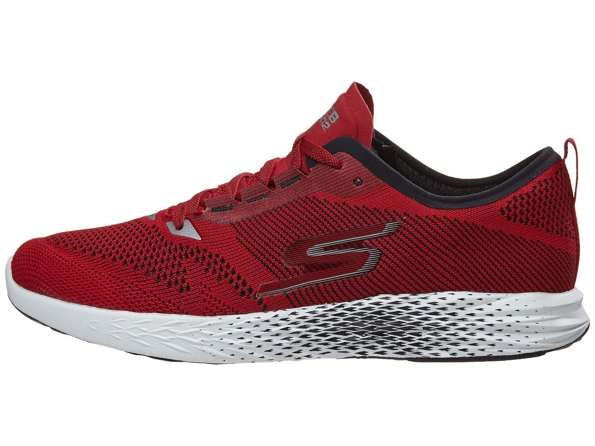 Skechers Men's Go MEB Razor 2 B074HS4372 12 D(M) US|Red/Black