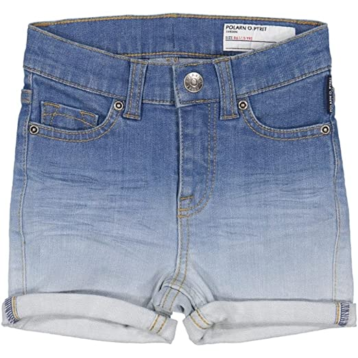 464ce4564738 Amazon.com: Polarn O. Pyret Washed Denim Shorts (Baby) - 1.5-2 Years ...