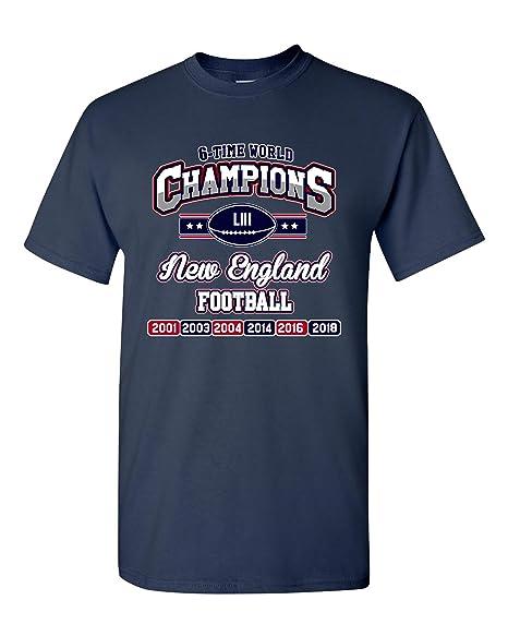 4e80fe29 Amazon.com: New World Champion 6-Time New England Football DT Adult ...