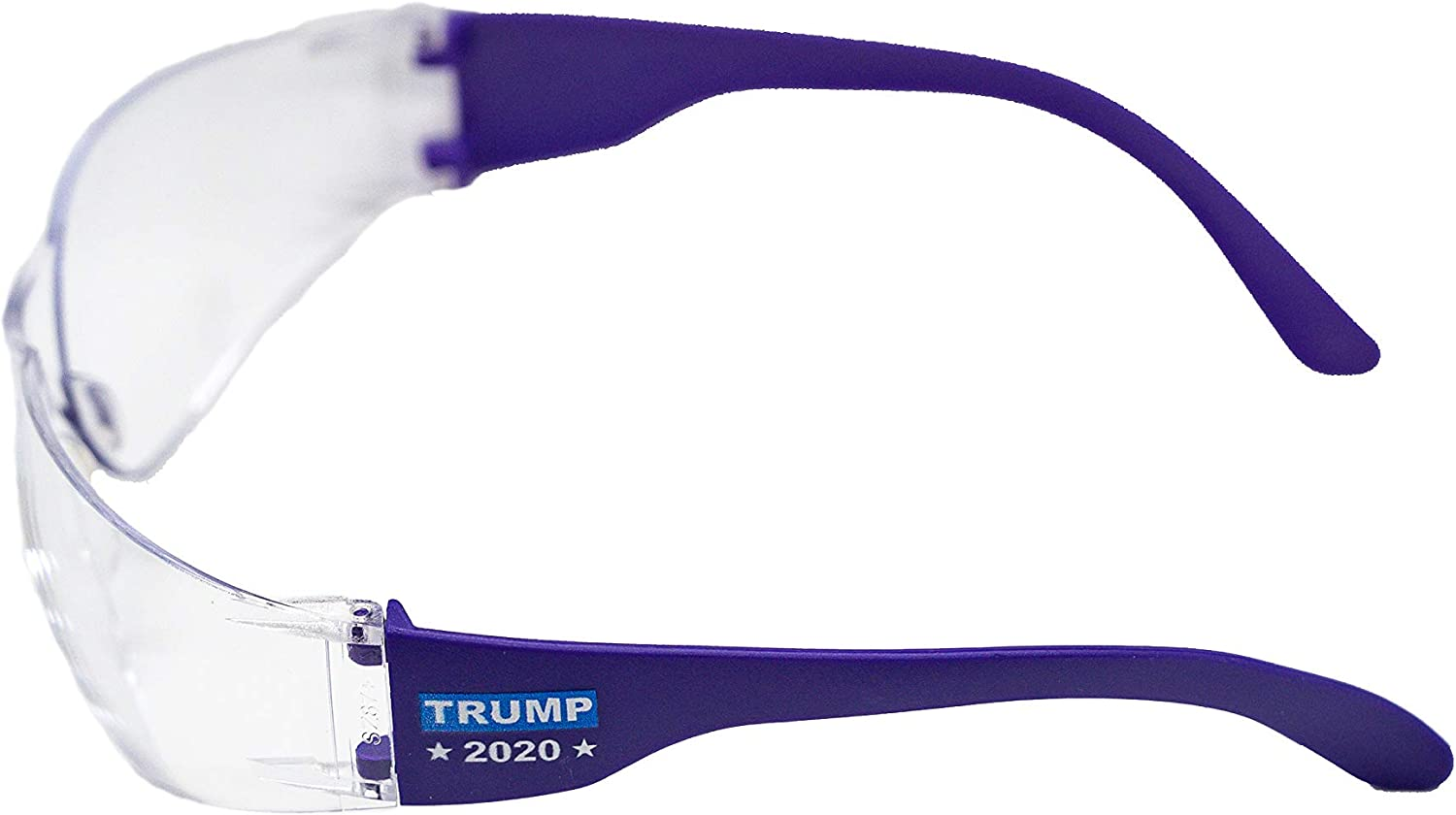 Green Frames with Clear Lenses SSP Eyewear Trump 2020 Election Safety Glasses