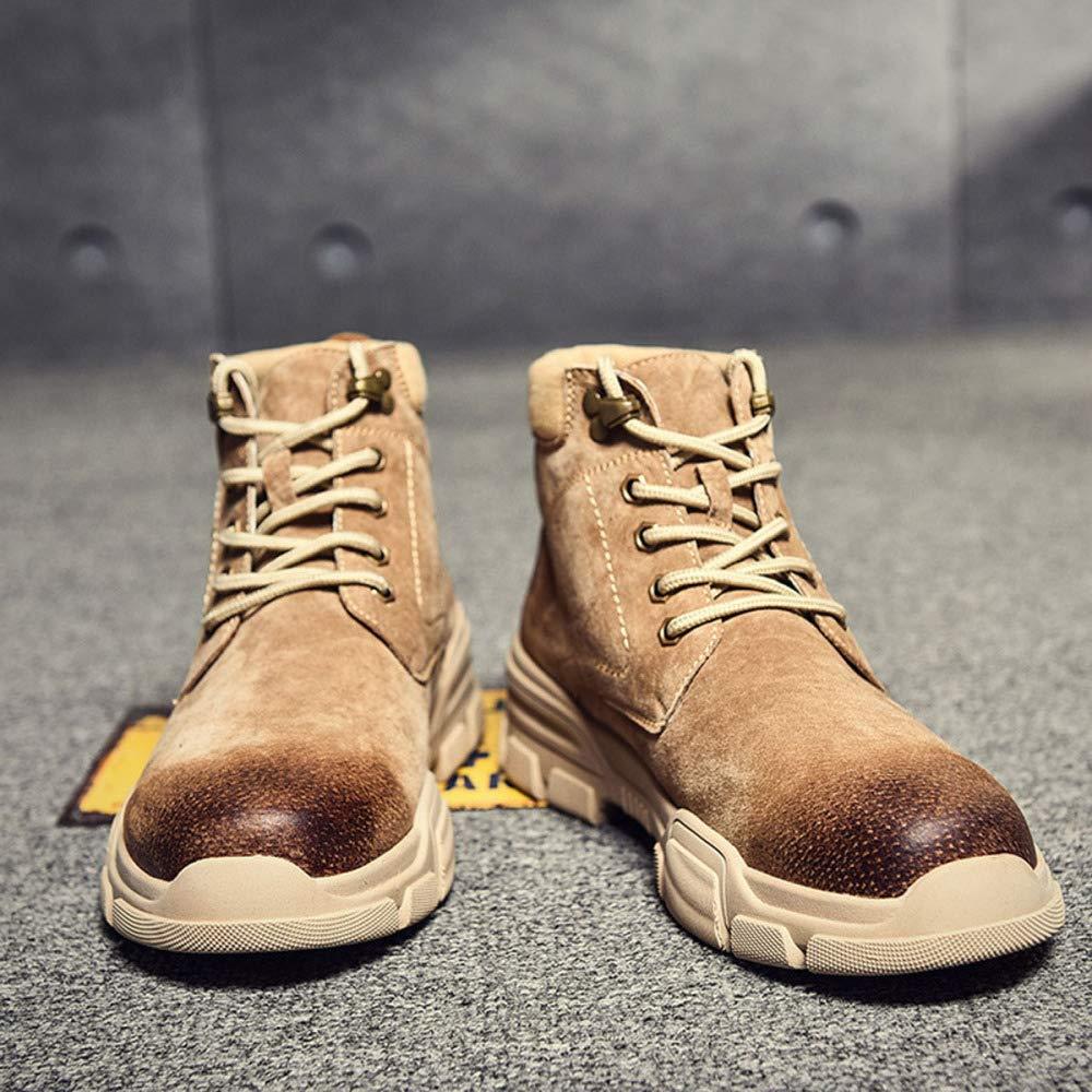 Herren Herren Herren Stiefeletten Winter Schnee Warme Stiefel Schnüren Ankle Lässige Stiefel Martin Stiefel Outdoor Anti Slip High Top Work Stiefel 060844