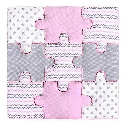 Lulando lulando Puzzle Cojín - Set de 9 piezas, suave y ...