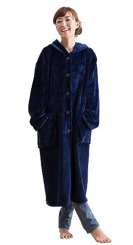 mofua ( モフア ) マイクロファイバー 着る毛布 48476407