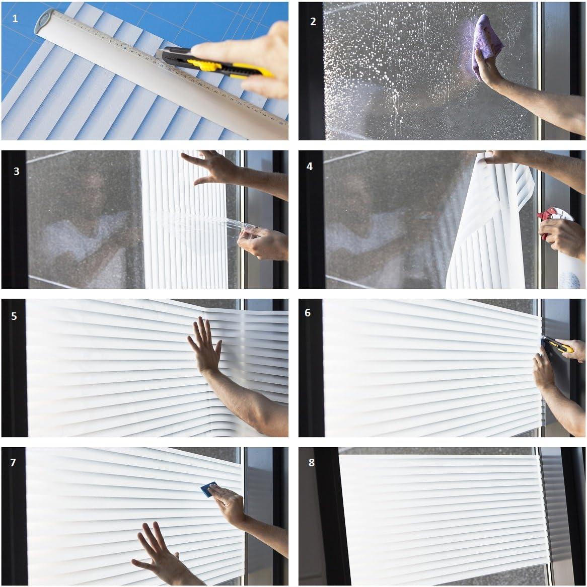 Film Wave en largeur de 90/cm fen/être statique Protection d/écran au m/ètre