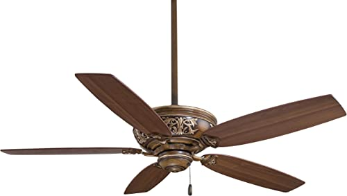 Minka-Aire F659-BCW Classica 54 Inch Pull Chain Ceiling Fan