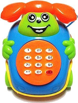 Baby Music Toys Cartoon Phone Educational Developmental Kids Toy Gift
