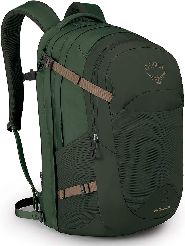 Mens Everyday /& Commute Pack Osprey Nebula 34 Sentinel Grey O//S