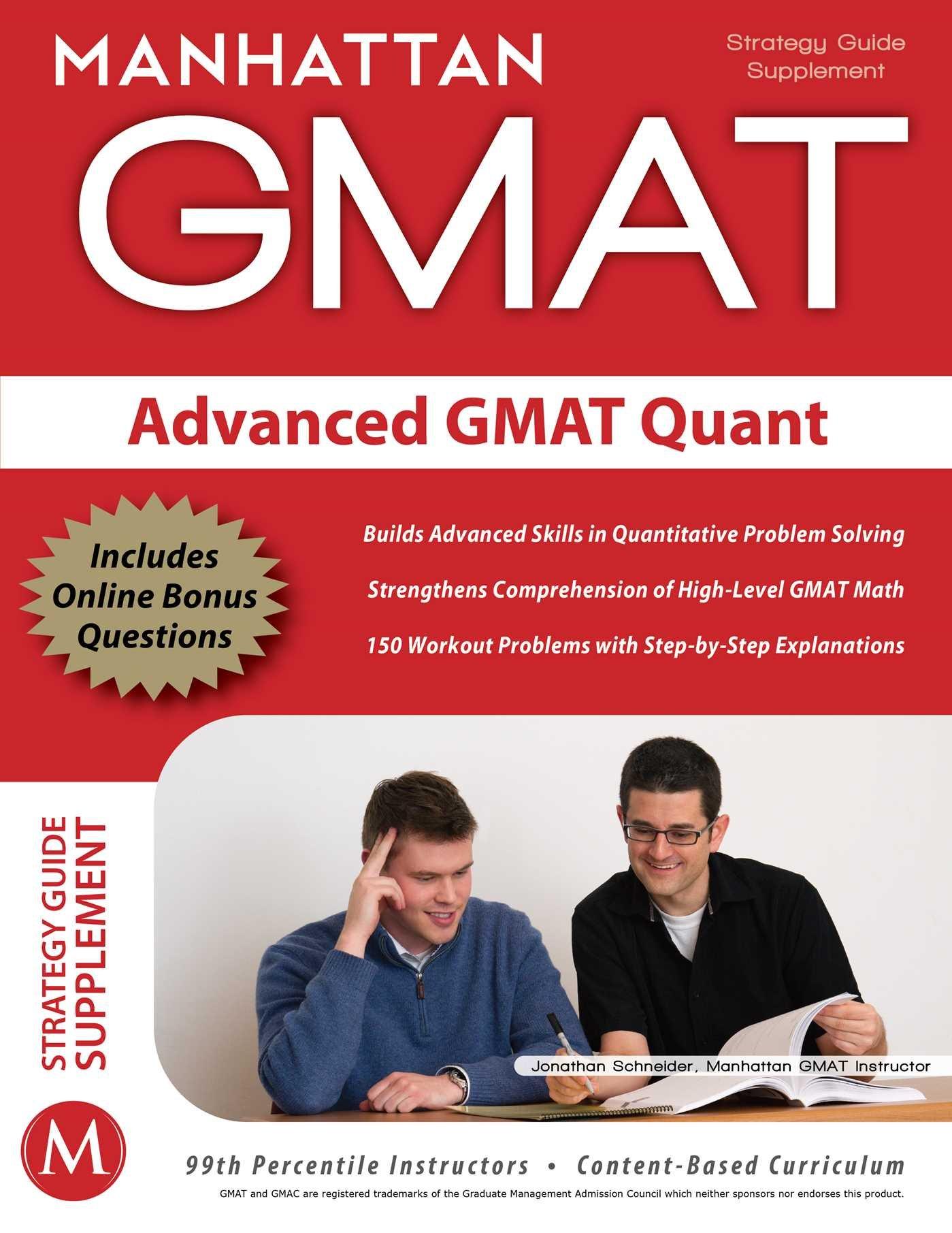 Advanced GMAT Quant (Gmat Strategy Guides): Amazon.co.uk: Manhattan Gmat:  9781935707158: Books