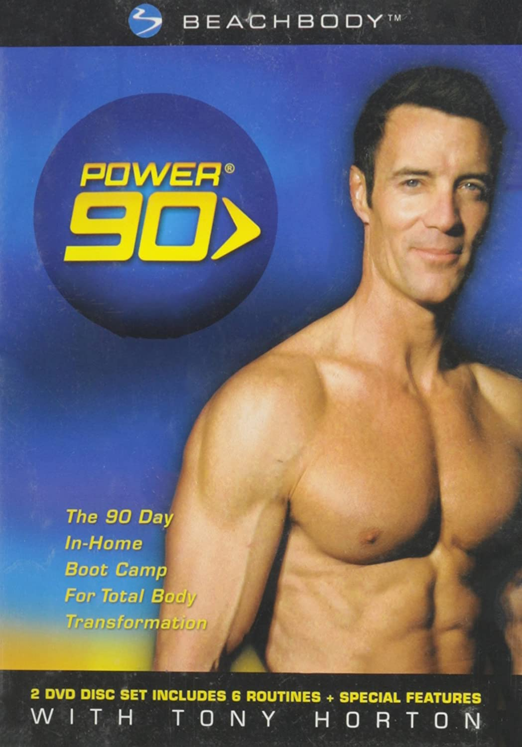 Amazon com: Power 90: Tony Horton (The 90 Day In-Home Boot Camp for