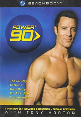 Power 90: Tony Horton (The 90 Day In Home Boot Camp For Total