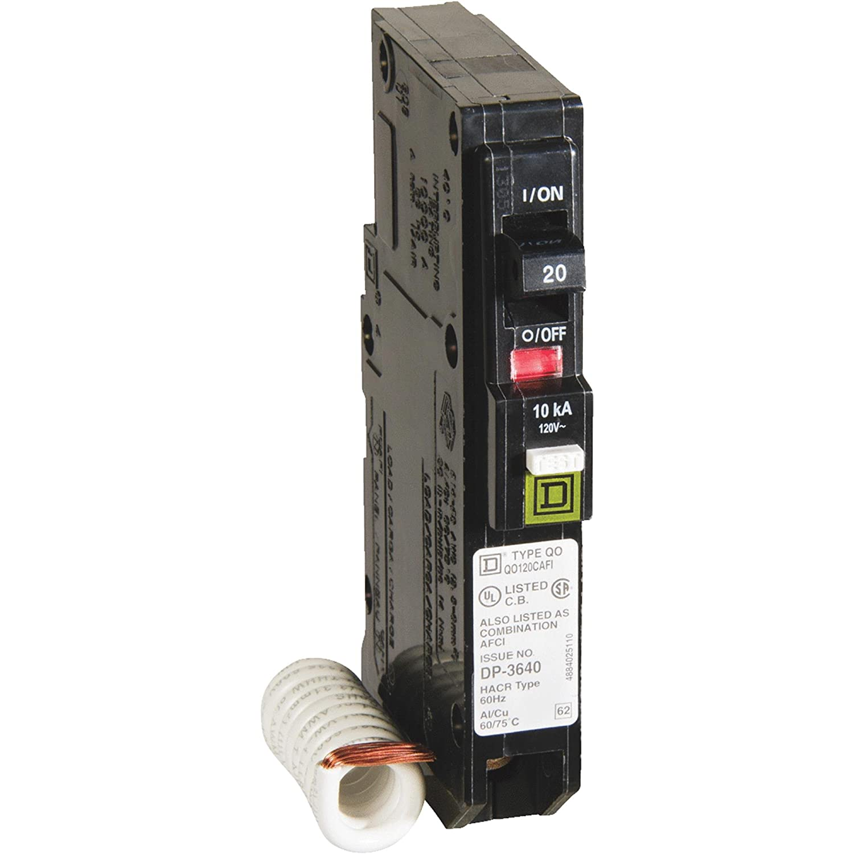 Square D Combo Arc Fault 20 Amp Clmshl Schneider Electric Usa Inc