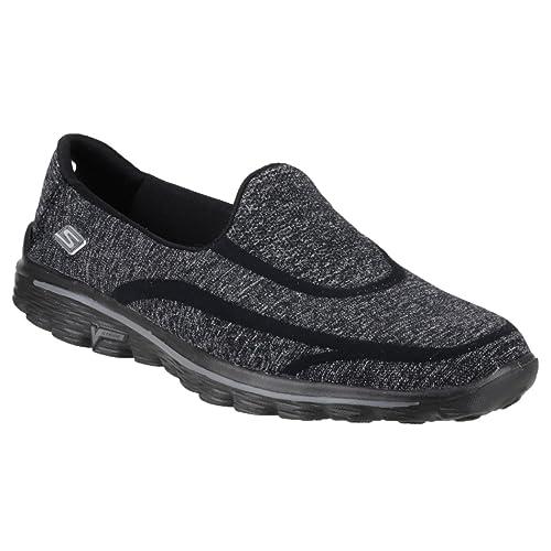 Walk 2 Super Sock Womens/Ladies Shoes