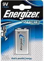 Energizer 635236 Lithium Battery, 9 V - Silver