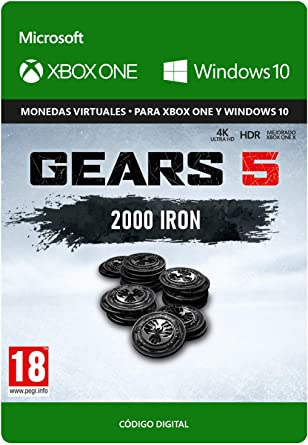 Gears of War 5: 2,250 Iron - Xbox One - Código de descarga: Amazon.es: Videojuegos