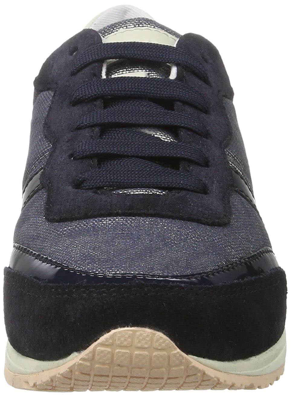 Geox Women/'s D Wisdom D Low-Top Sneakers