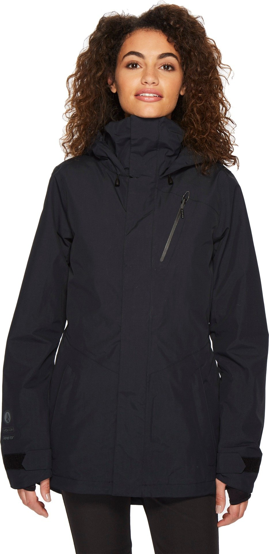 Volcom Snow Women's Campos Inf Gore-TEX Jacket Black Large by Volcom