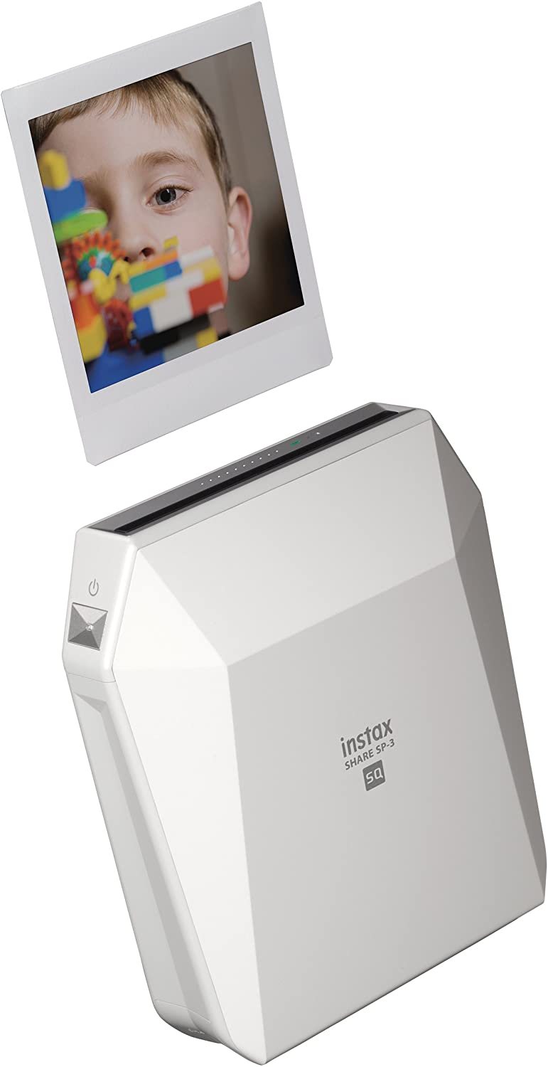 Fujifilm Instax SP-3 Mobile Printer - White, 5.2X 4.56x 1.77