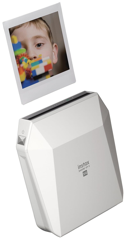 FUJIFILM Instax® Square SHARE™ Smartphone Printer SP-3 - Black Fujifilm CA SP3 Black
