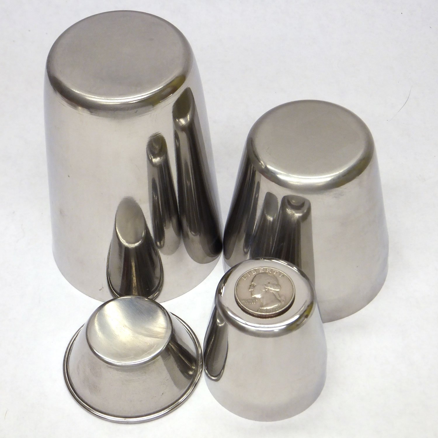 Stainless Steel Candle Cup Mold Set